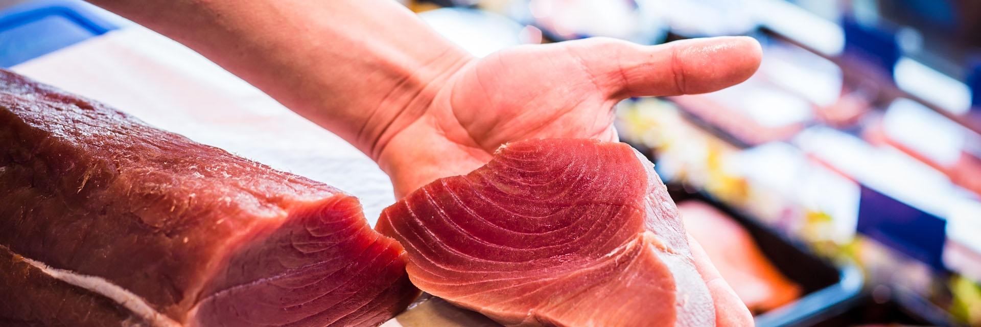 Verse tonijnsteak